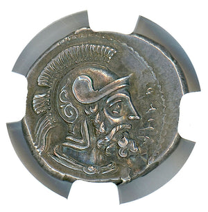 Cilicia Tarsus Datames AR Stater NGC Ch AU 4x5