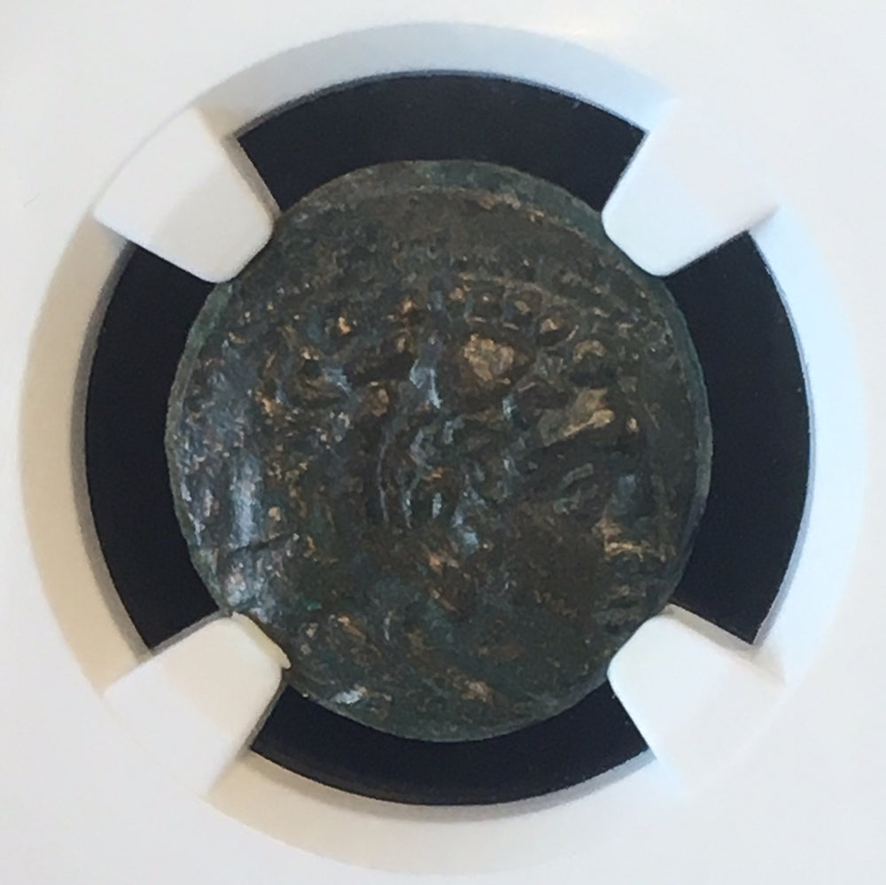 Alexander the Great Bronze Unit NGC Ch XF