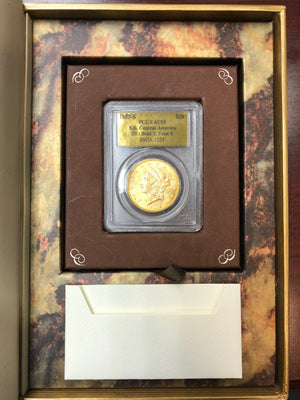 1857-S $20 Liberty PCGS AU55 SS Central America Shipwreck