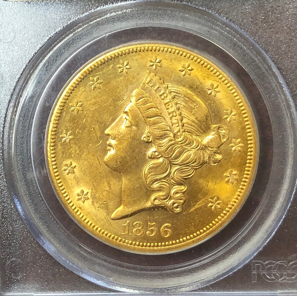 1856-S $20 Liberty PCGS AU58 SS Central America Shipwreck