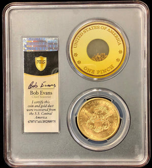1857-S $20 Liberty PCGS MS61 SSCA second recovery