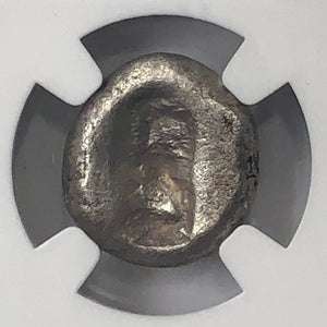 Achaemenid Persian Empire 505-480BC Type 2 Silver Siglos NGC VF