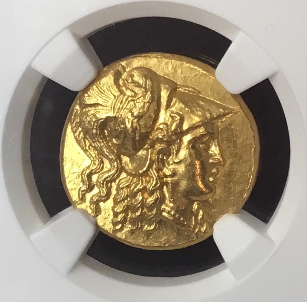 "Alexander the Great Gold Stater NGC MS ""Fine Style"""