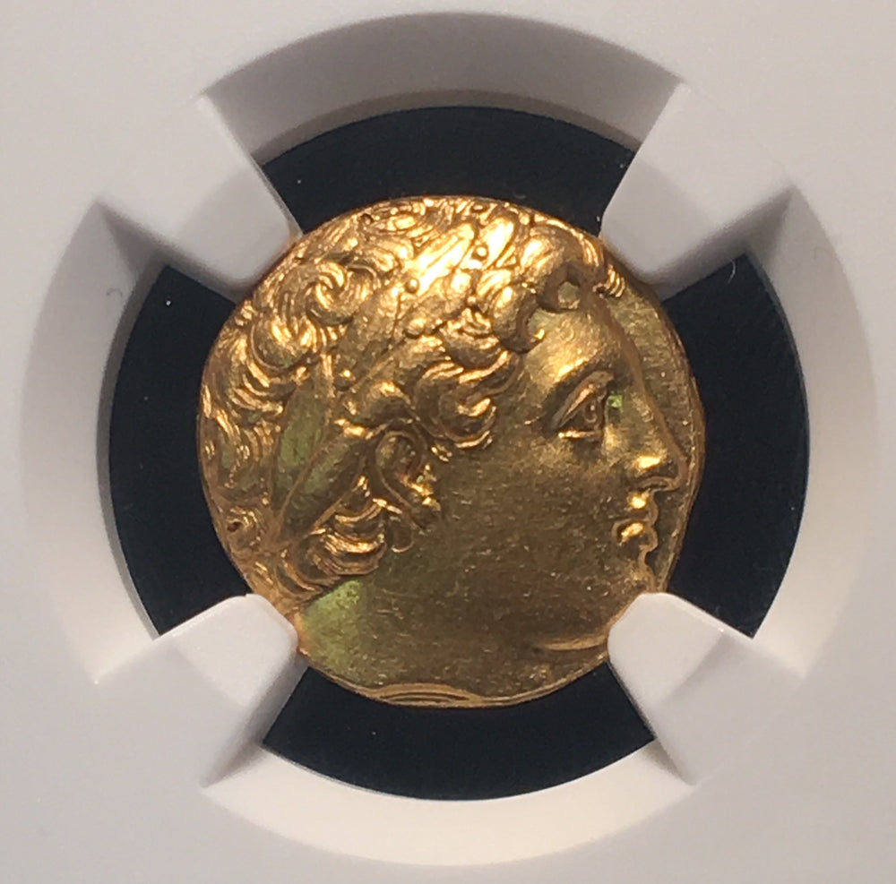 "Philip II Gold Stater NGC CHAU 5x3 ""Fine Style"""