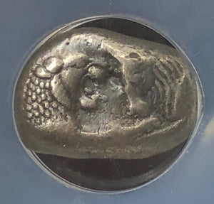 Load image into Gallery viewer, Croesus 561-546BC Silver Full Stater NGC XF