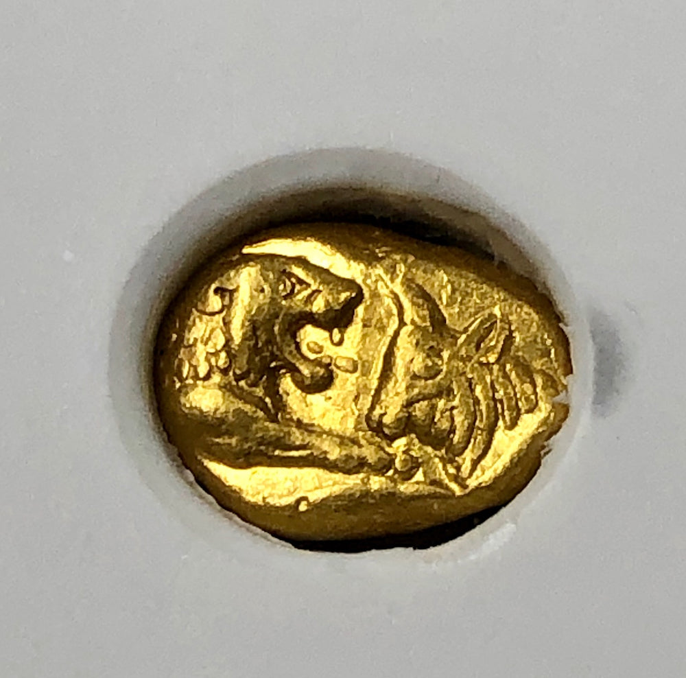 "King Croesus Gold 1/6 Stater ""Heavy Stater"" NGC CH VF"