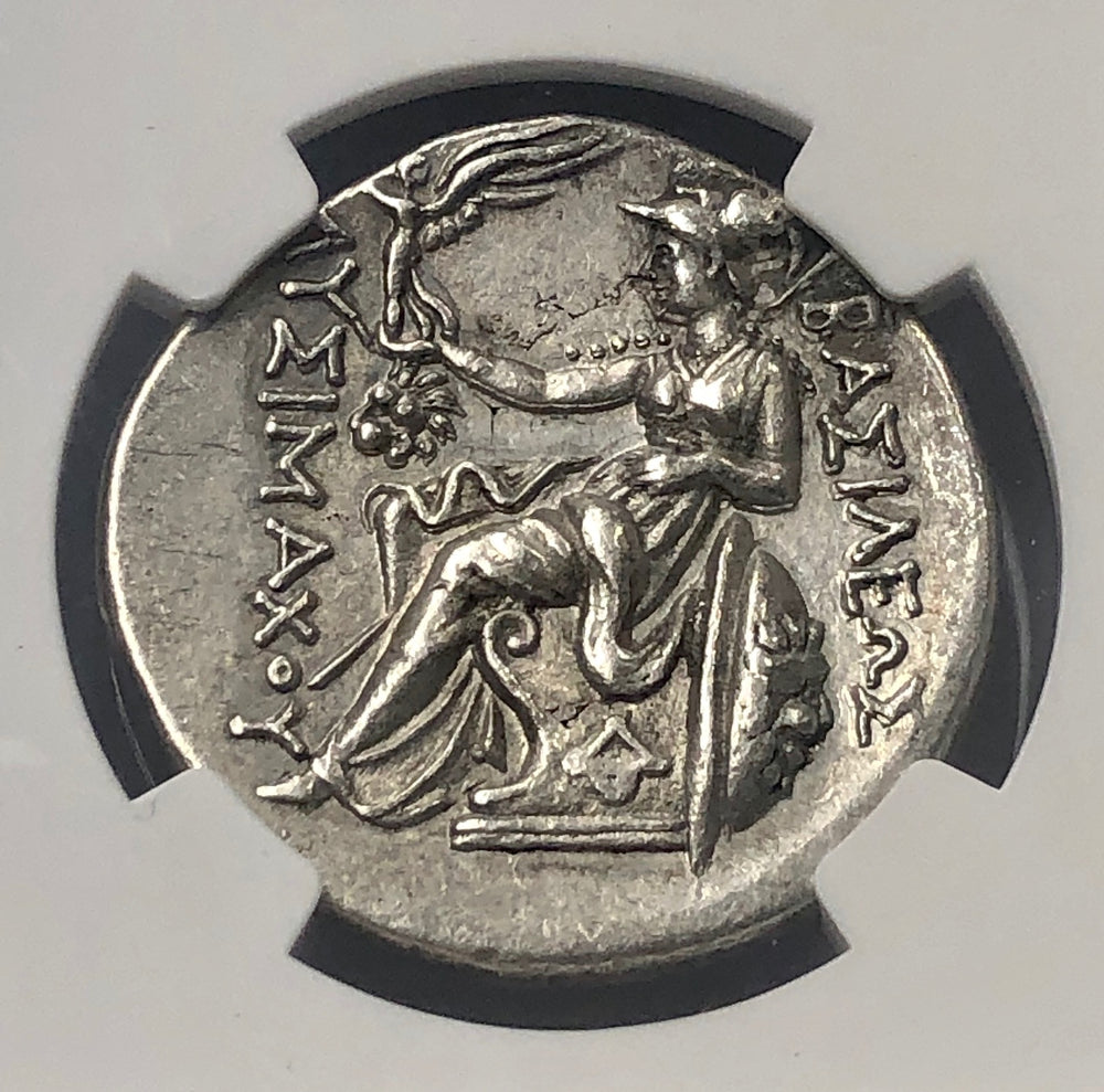 Load image into Gallery viewer, Thrace Lysimachus 305-281BC NGC AU