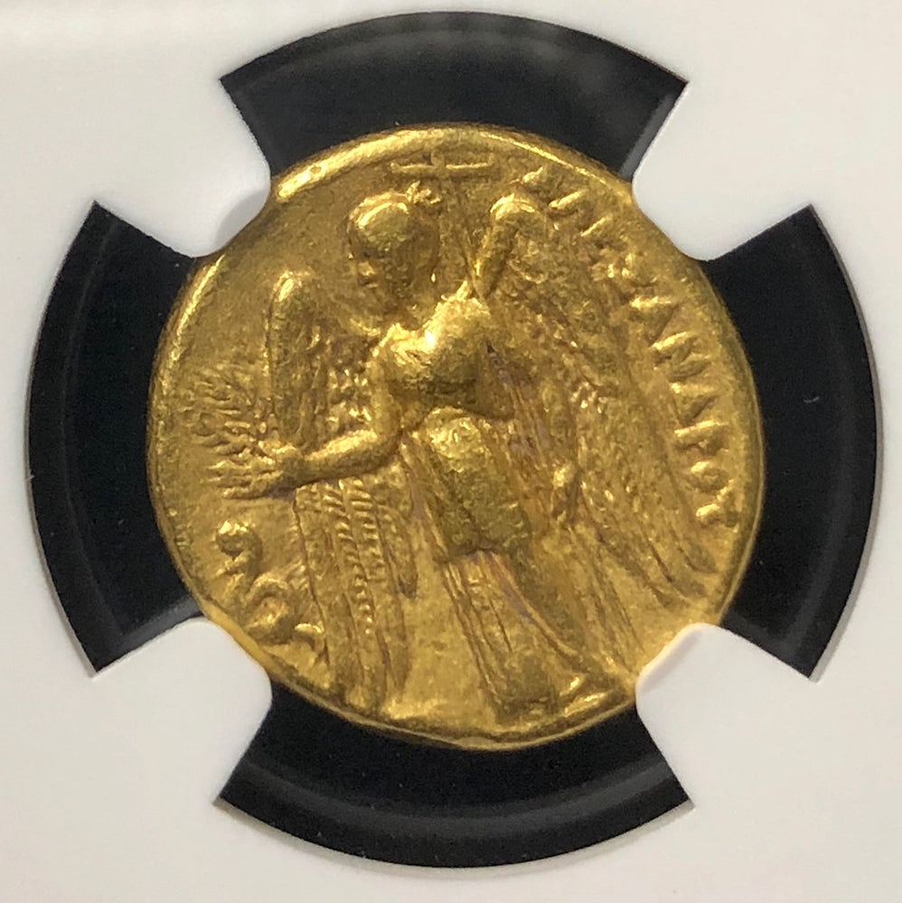 "Alexander the Great Gold Stater ""Lifetime issue"" NGC VF"