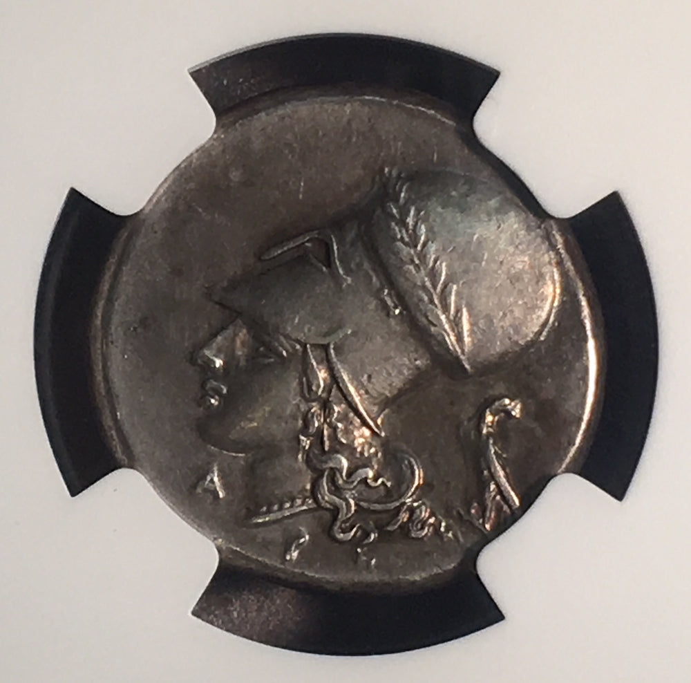 Load image into Gallery viewer, Corinthia, Corinth Pegasus Silver Stater NGC CHXF 5x3