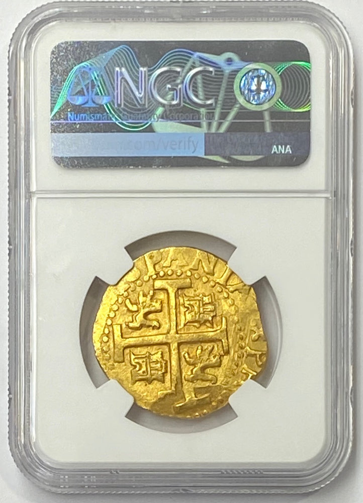 1712L M Peru 8 cob/Escudos NGC MS66 The Sole Finest Certified