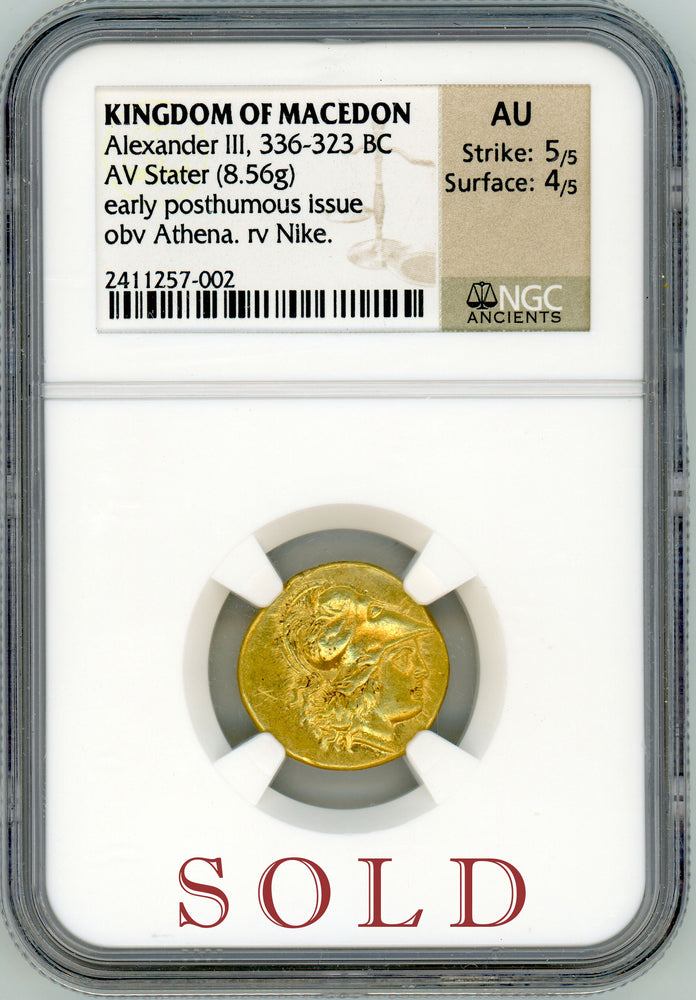 Alexander the Great NGC AU 5x4