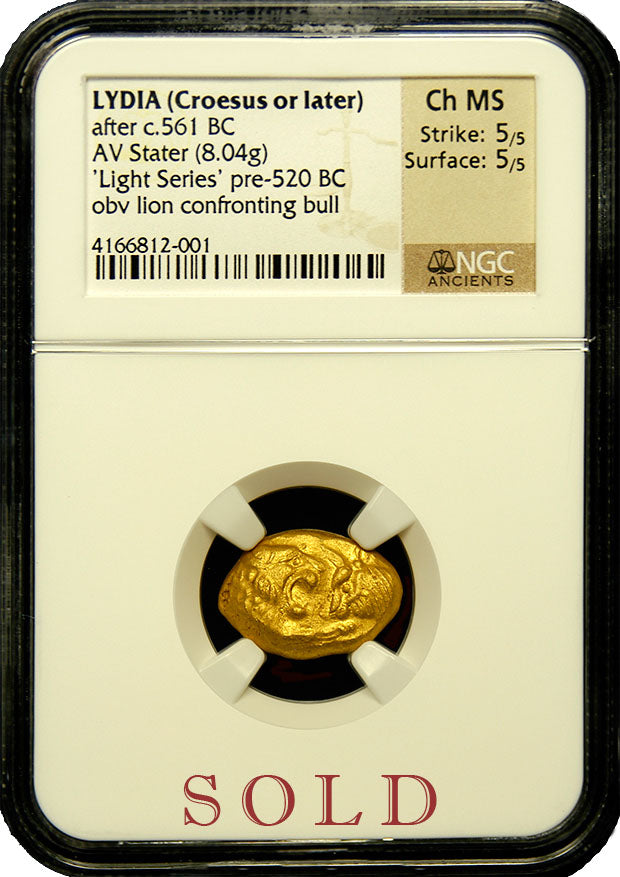Lydia Croesus AV Stater Light Series NGC Ch MS