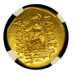 Mithradates VI Gold Stater NGC ChMS Star
