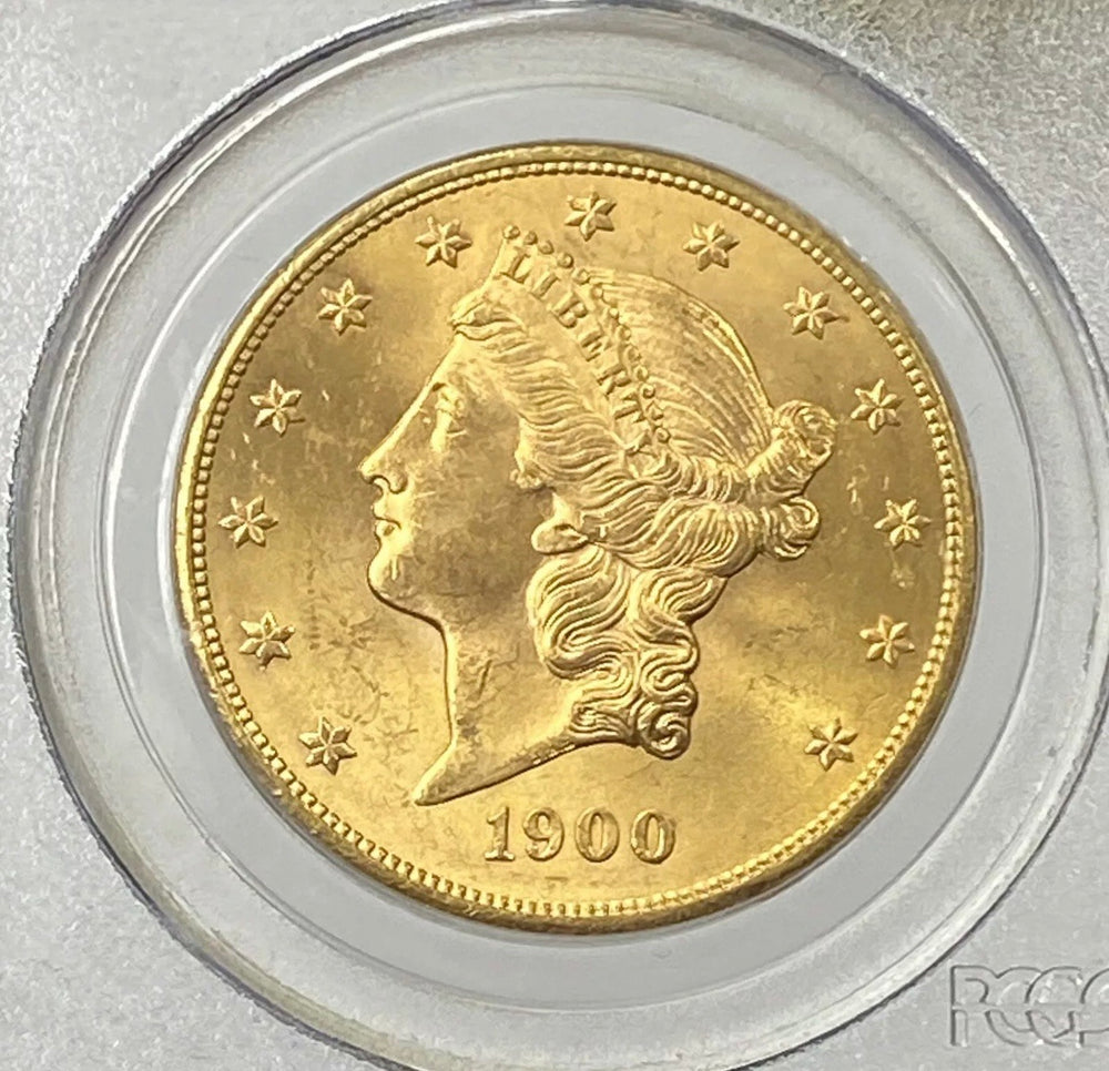1900-P $20 Liberty Gold Double Eagle PCGS MS64