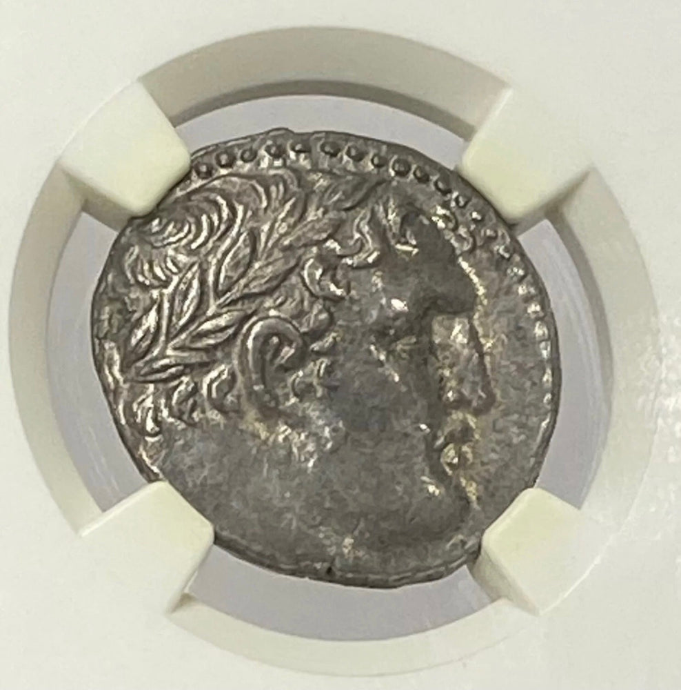 Load image into Gallery viewer, Phoenicia, Tyre 126/5 BC -AD 65 Silver Shekel NGC CHAU* Jesus Lifetime issue