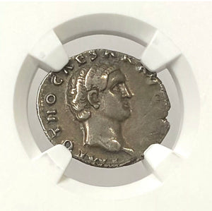 Load image into Gallery viewer, Roman Empire Otho AD 69 Silver Denarius NGC CHVF