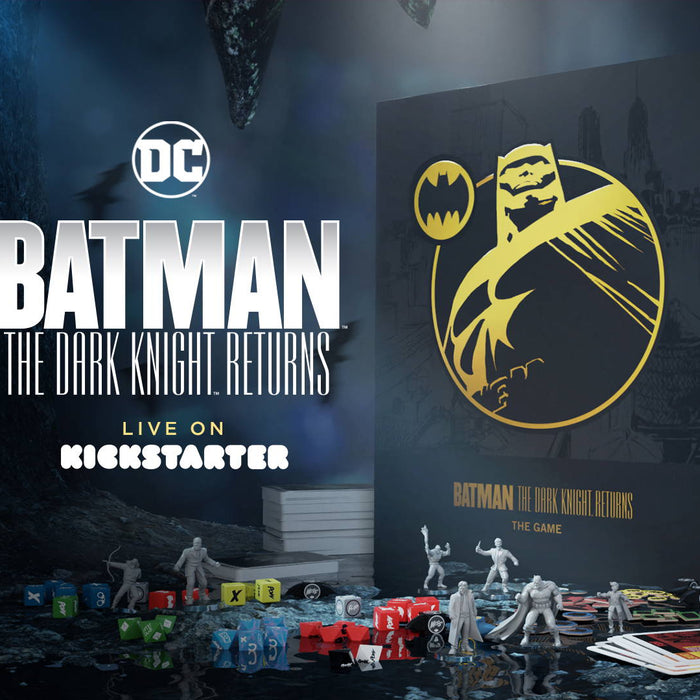 Cryptozoic Announces Kickstarter for Batman: The Dark Knight Returns— The Game