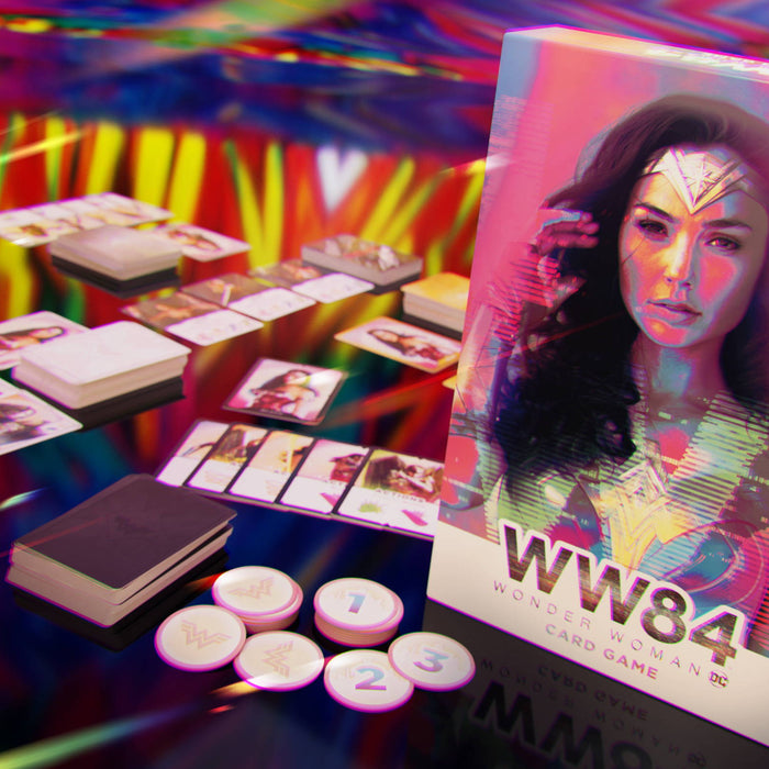 Cryptozoic Announces Release of Wonder Woman 1984 Card Game