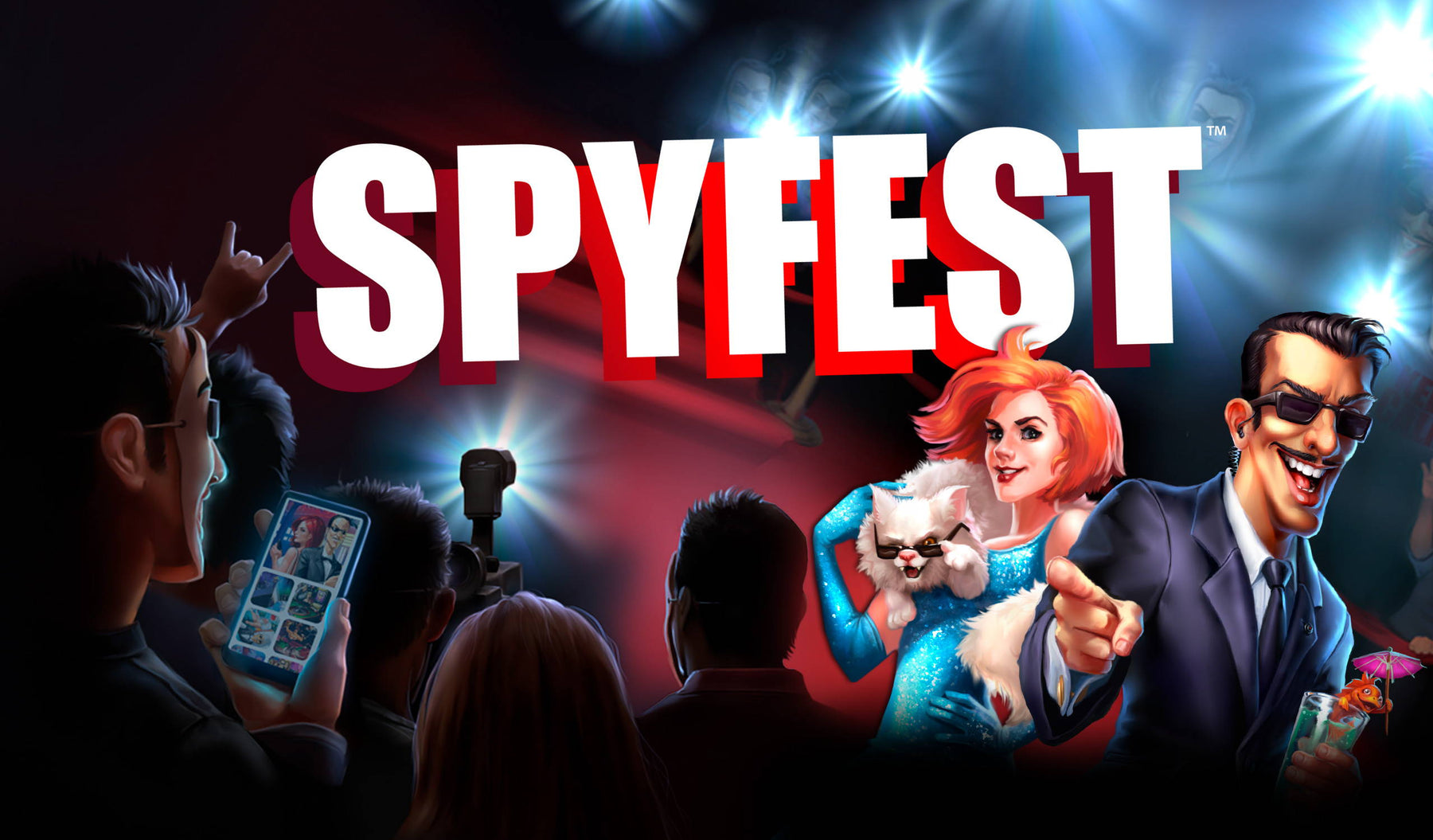 Cryptozoic and Hobby World Announce the Release of Spyfest™