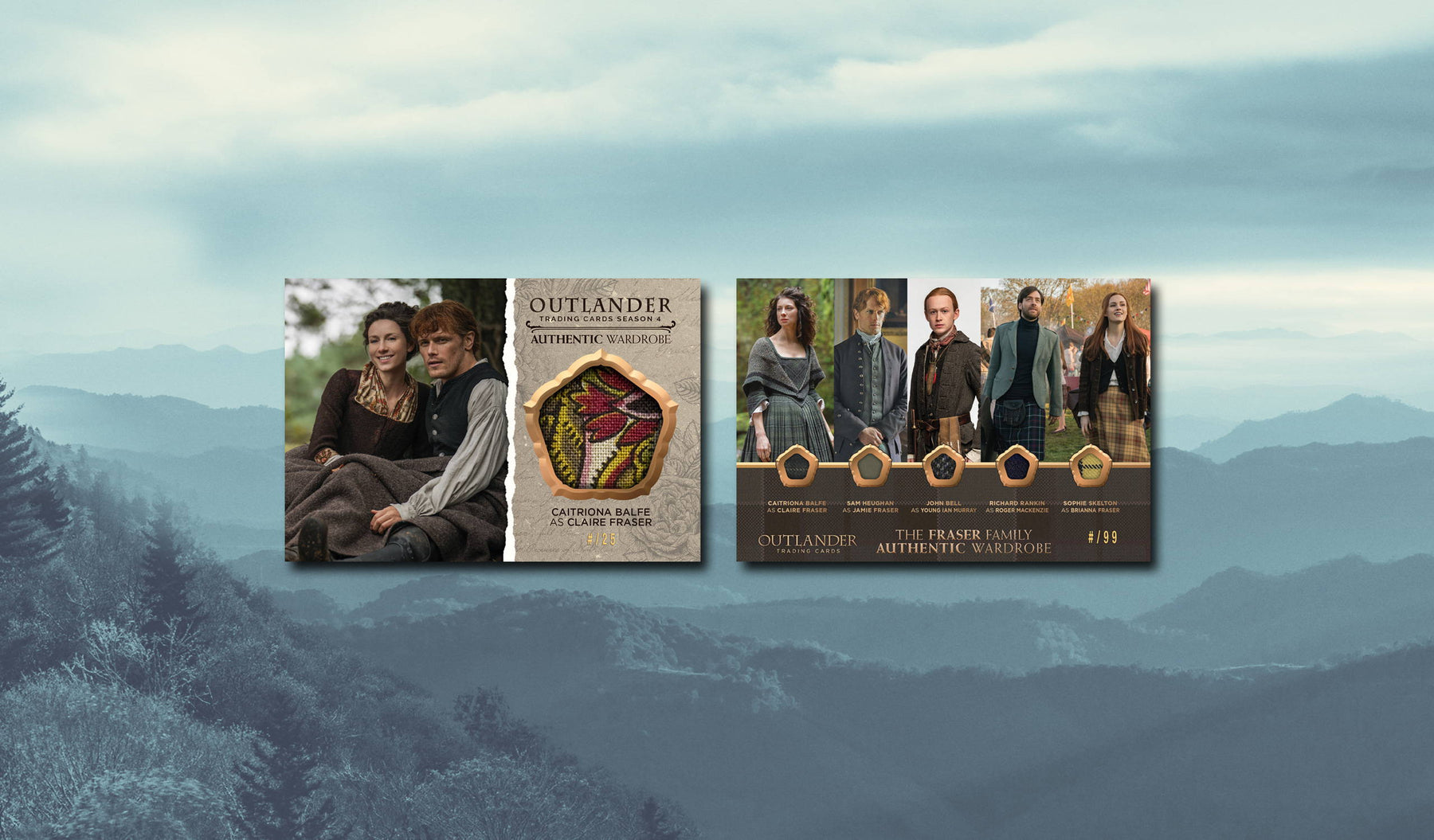 Outlander Trading Cards: Oversized Wardrobe Cards (Ebay Exclusives) - Wave 3