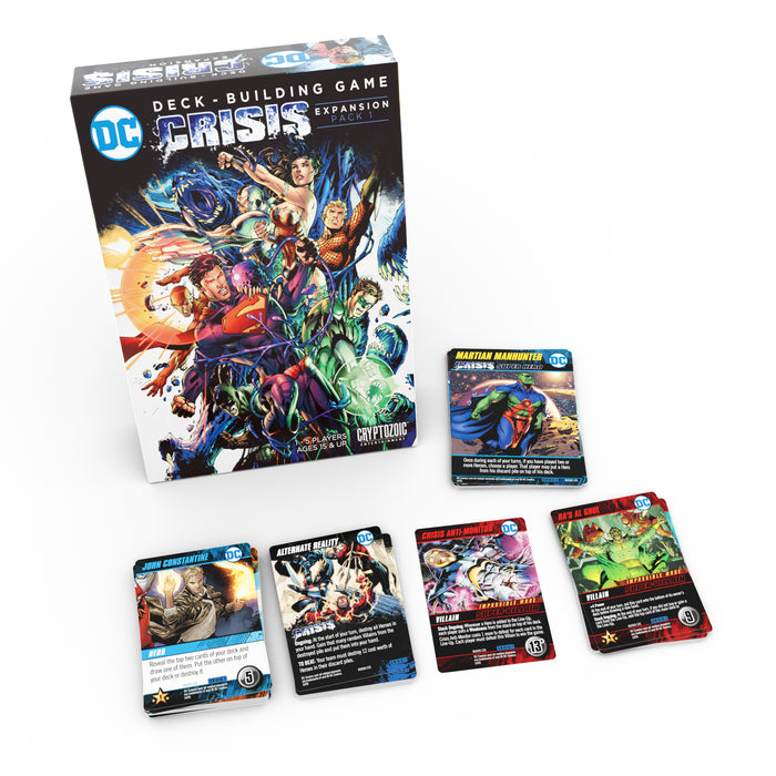 DC Deck-building Game: Crisis Expansion Pack 1