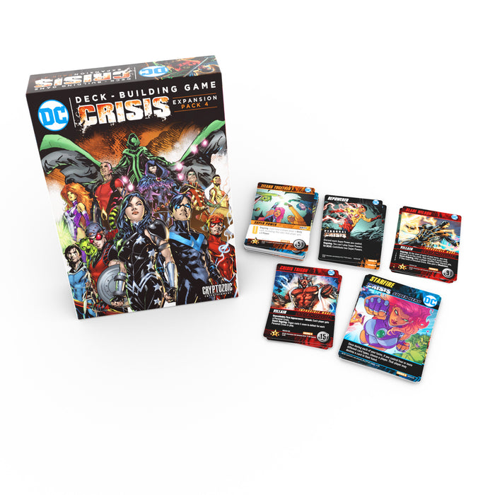 DC Deck-Building Game: Crisis Expansion Pack 4