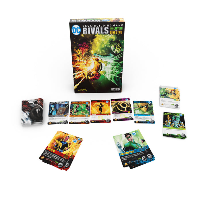 DC Deck-Building Game: Rivals 2 Green Lantern Vs. Sinestro