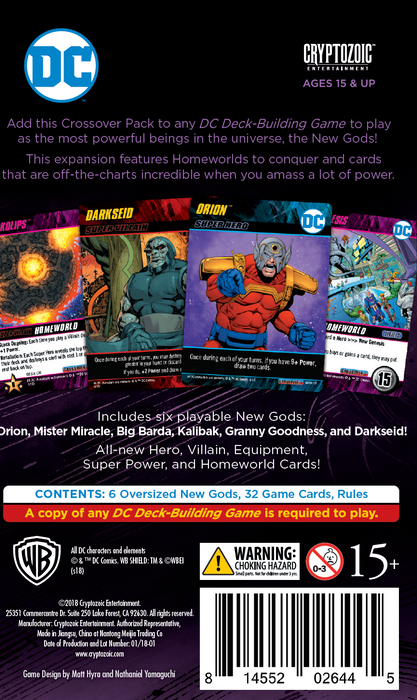 DC Deck-Building Game Crossover pack #7: New Gods