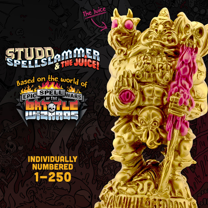Epic Spell Wars of the Battle Wizards Statue