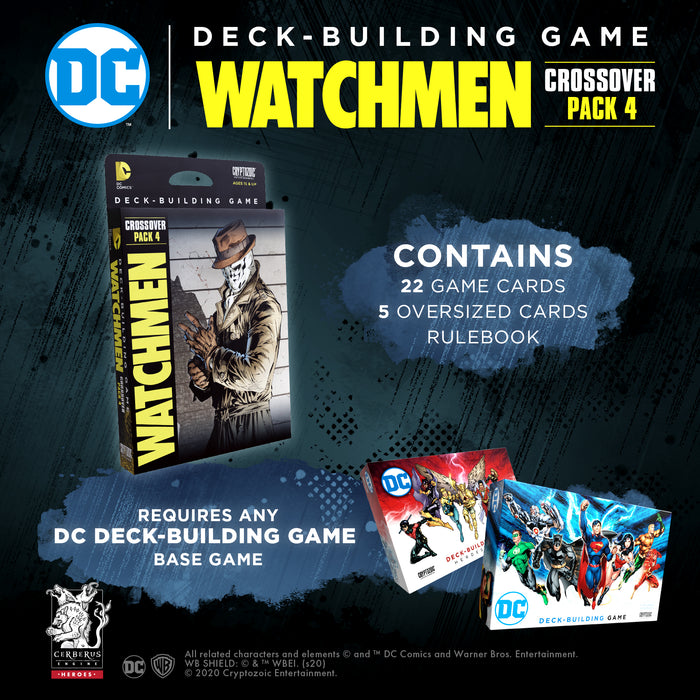 DC Deck-Building Game Crossover pack #4: Watchmen