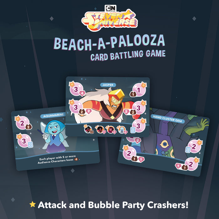 Steven Universe: Beach-a-Palooza Card Battling Game [KICKSTARTER]