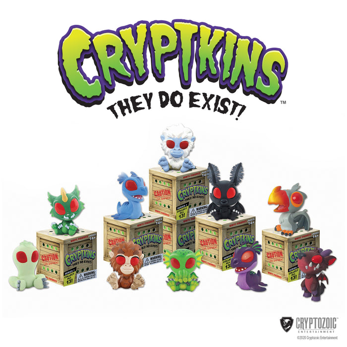 Cryptkins: Series 1 - Pack of Three