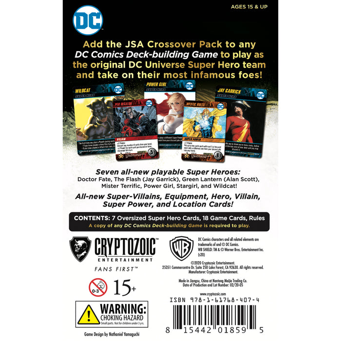 DC Deck-Building Game Crossover pack #1: JSA