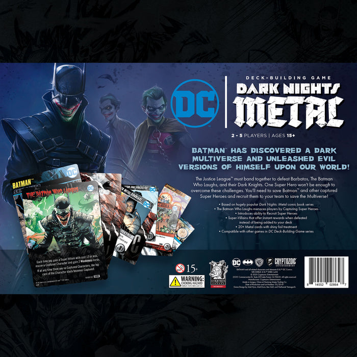 DC Deck-Building Game: Dark Nights: Metal