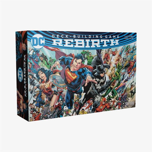 DC Deck-Building Game: Rebirth | Cryptozoic Entertainment Store