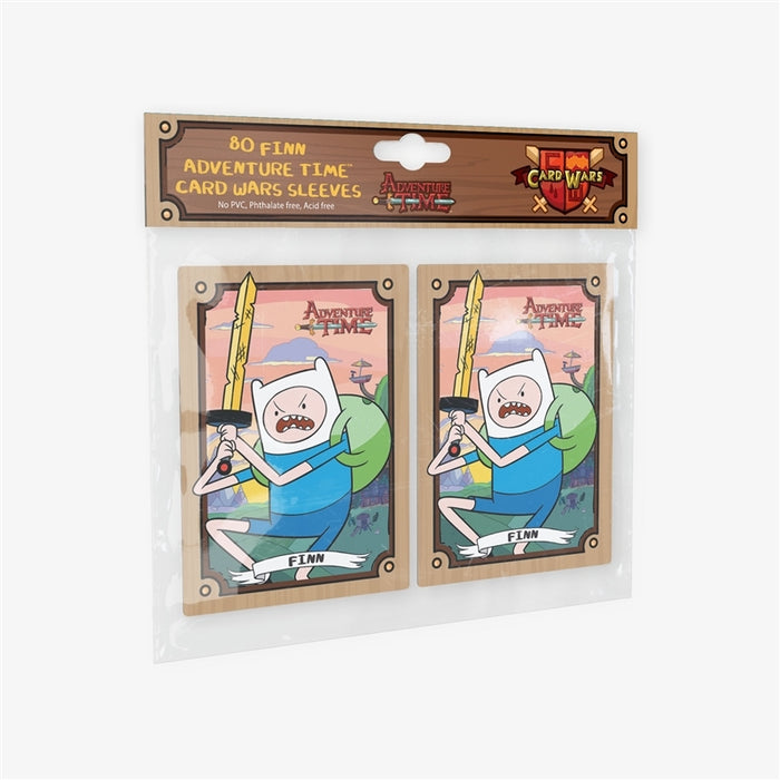 Adventure Time Card Wars Sleeves featuring Finn