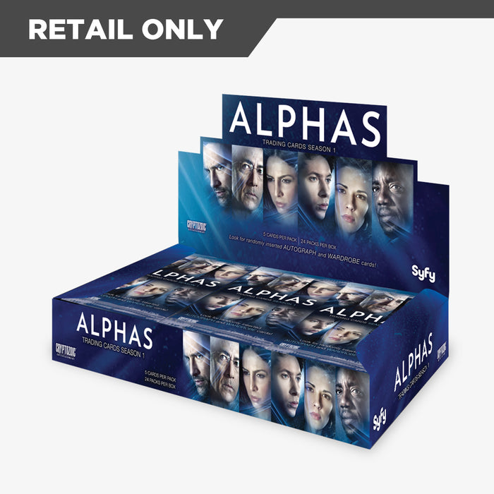 Alphas Trading Cards Season 1