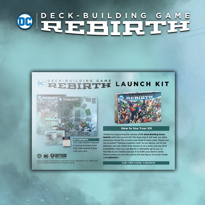 DC Deck-Building Game: Rebirth Promotional Kit