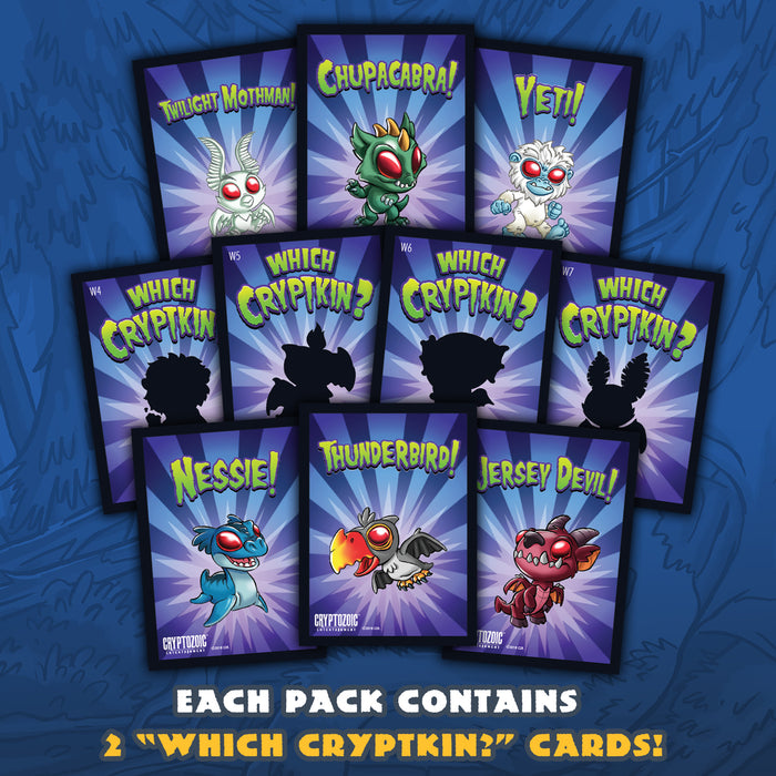Cryptkins Trading Cards: Convention-Exclusive Pack