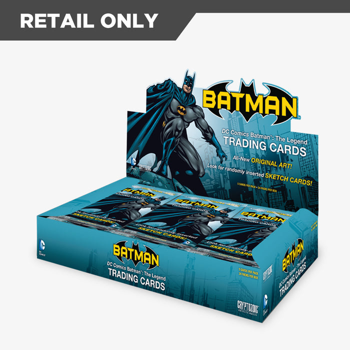 DC Comics Batman: The Legend Trading Cards