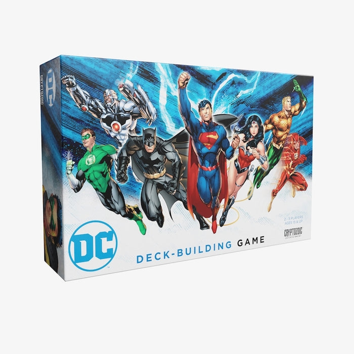 DC Deck-Building Game | Cryptozoic Entertainment Store