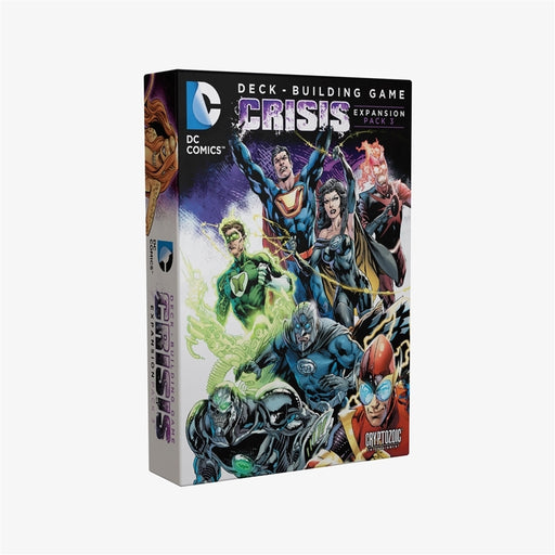 DC Deck-Building Game: Crisis Expansion Pack 3