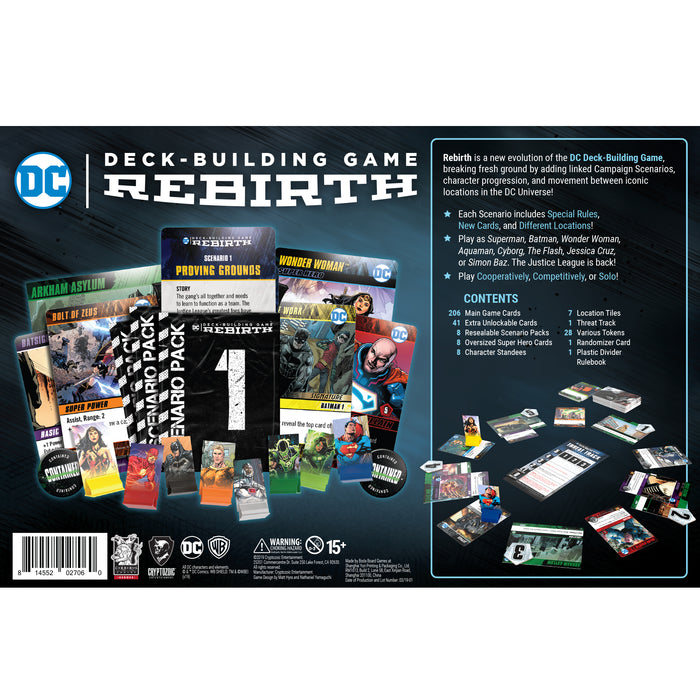 DC Deck-Building Game: Rebirth