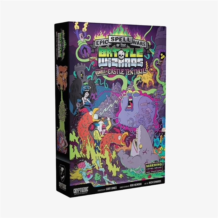 Epic Spell Wars of the Battle Wizards II: Rumble at Castle Tentakill | Cryptozoic Entertainment Store
