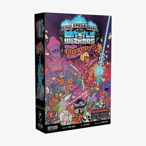 Epic Spell Wars of the Battle Wizards IV: Panic at the Pleasure Palace | Cryptozoic Entertainment Store