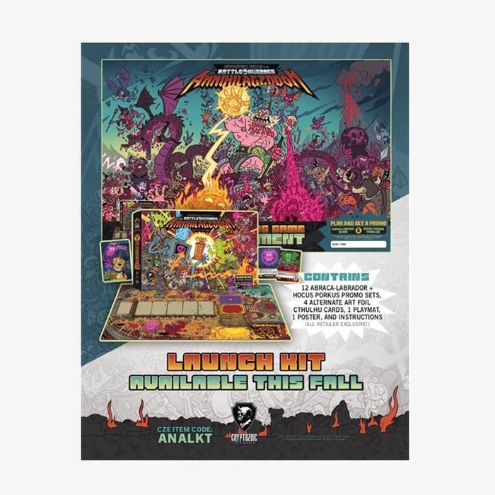 Epic Spell Wars of the Battle Wizards: Annihilageddon Promotional Kit