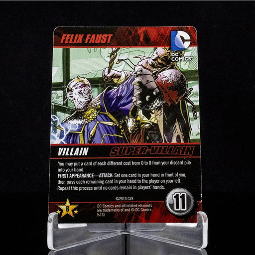 DC Deck-Building Game - Felix Faust Promo Card