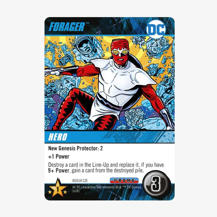 DC Deck-Building Game - Forager Promo Card