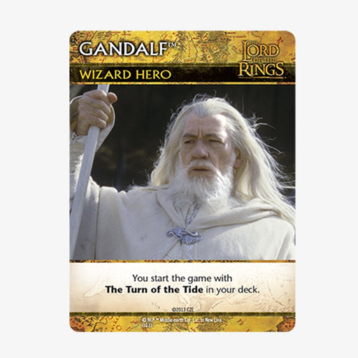 LOTR DBG Promo Card - Gandalf Promo Pack