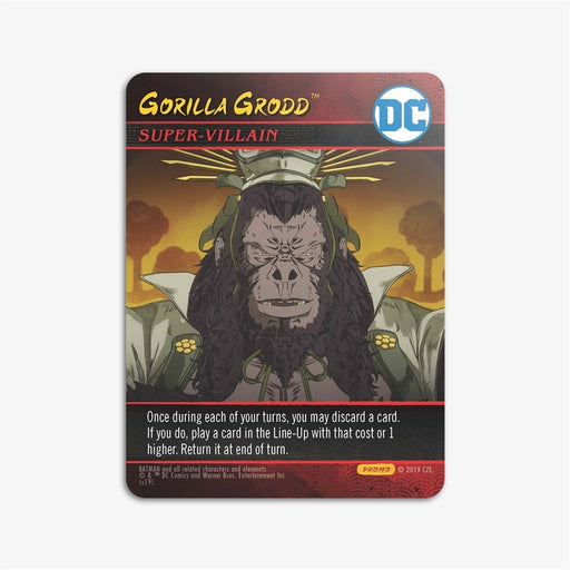 DC Deck-Building Game: Batman Ninja - Gorilla Grodd Promo Card